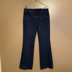 BANANA REPUBLIC Wide Leg Trouser Jean Size 27